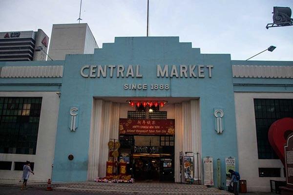 بازار مرکزی کوالالامپور