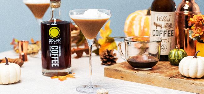 Solar Spirits' Fall Cocktail Recipe