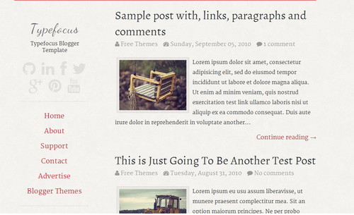 Typefocus Blogger