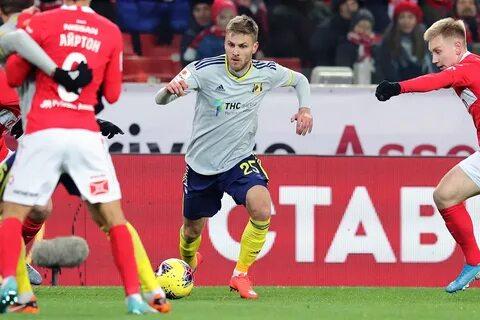 Логашов в матче против ЦСКА