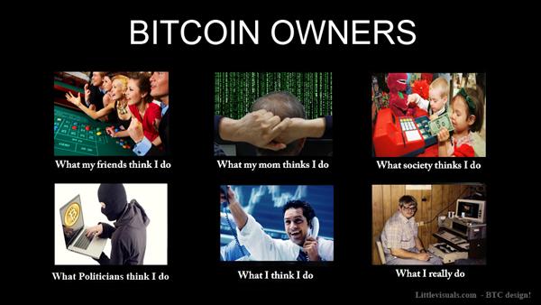 Bitcoin and crypto meme #1.