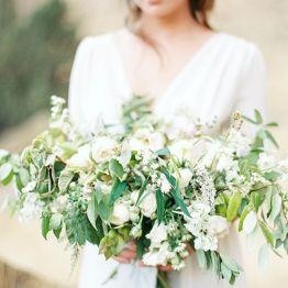 Растрепанный букет для невесты на свадьбу своими руками