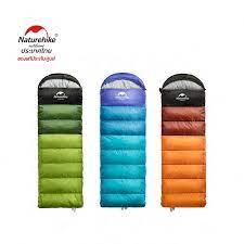 2. ถุงนอนพับเก็บได้ Naturehike Hollow Cotton Saquare Sleeping Bag