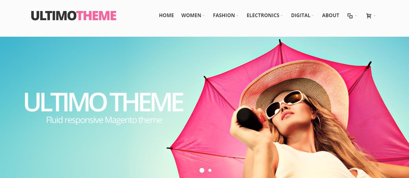 Ultimo theme - Magento fashion theme