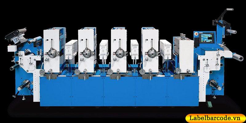 Hệ thống  máy in flexo tại An Thành