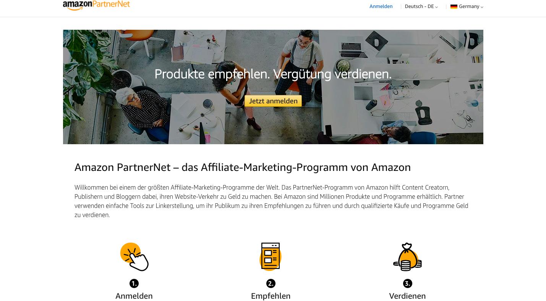 Als Amazon Affiliate Geld verdienen