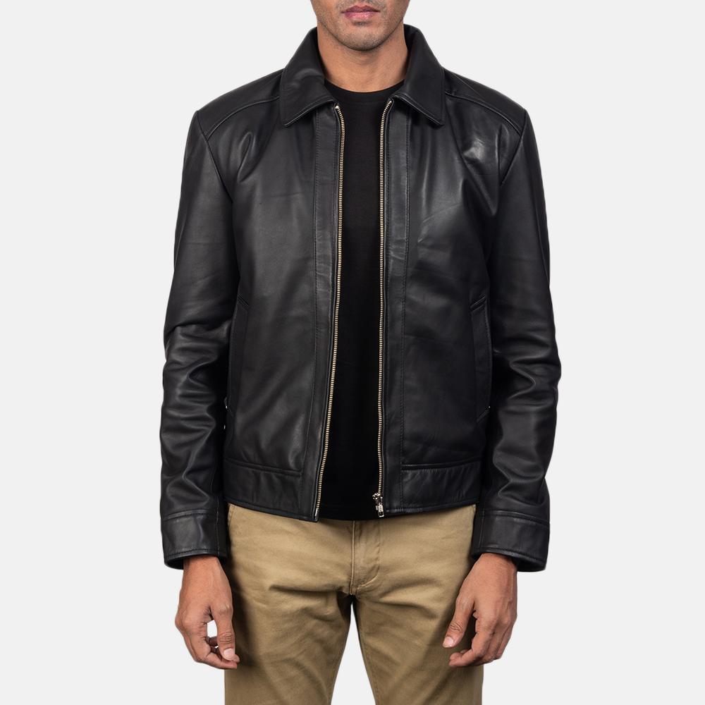 Inferno Black Leather Jacket
