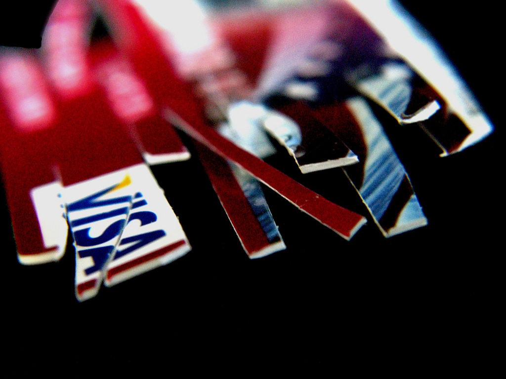 cutting credit cards when it comes to expenses for the small business
