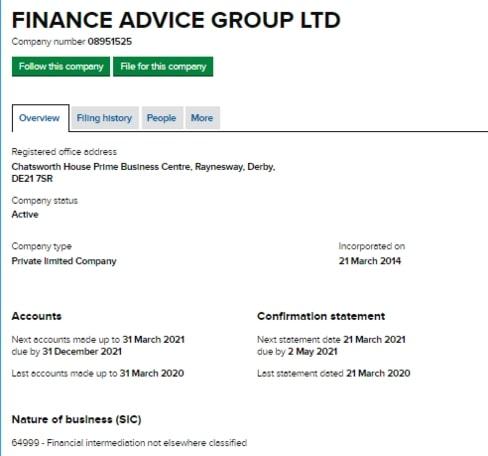 Обзор Finance Advice Group: факты и отзывы о брокере
