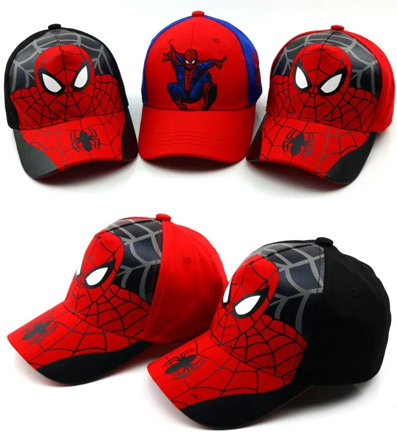 Cotton Baseball Caps For Kids Along With Comics