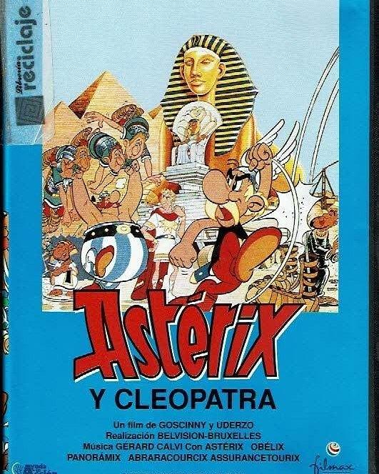 Astérix y Cleopatra (1968, René Goscinny, Albert Uderzo y Lee Payant)