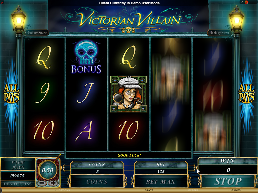 Victorian Villain Slots Game Review