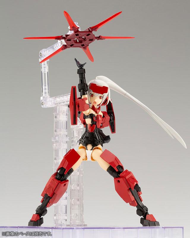 Kotobukiya / FRAME ARMS GIRL / 骨裝機娘 & 武器套組 迅雷Ver. / 組裝模型