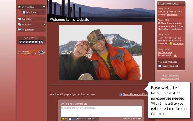SimpleSite Website Bui...