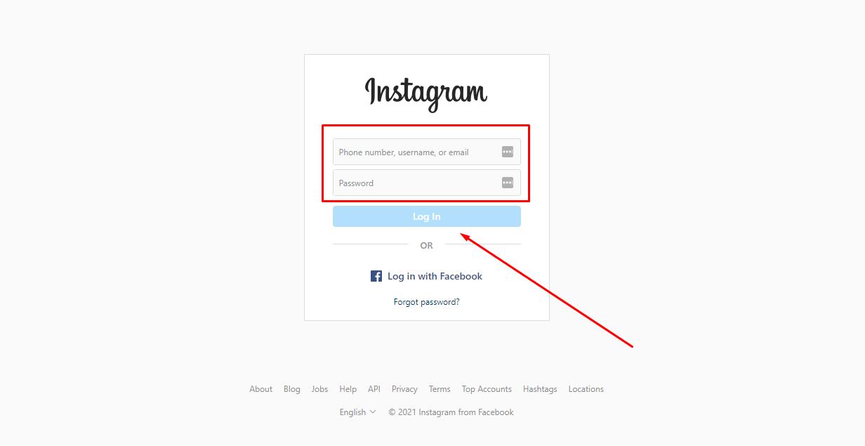 Embed Instagram Feed Method 1