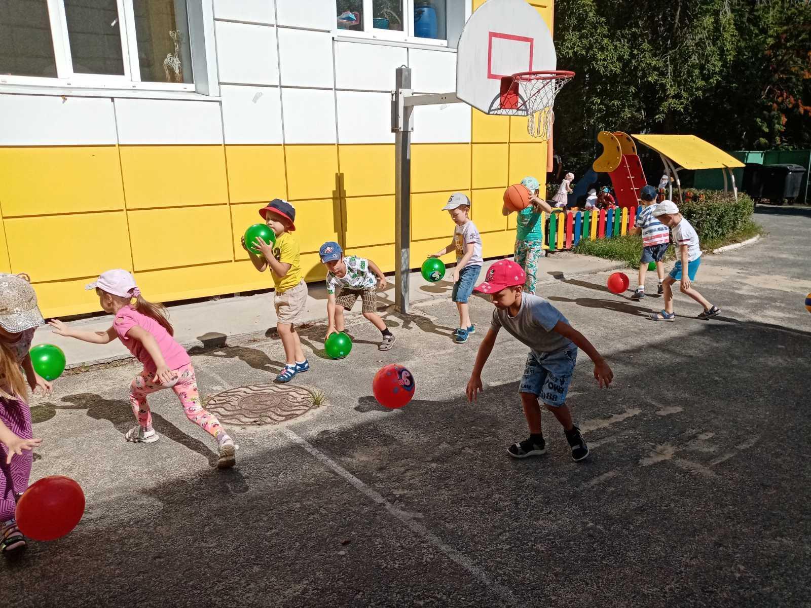 Элементы спортивных игр