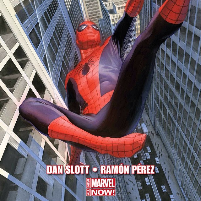 Spider-man Alex Ross Dan Slot Ramon Perez
