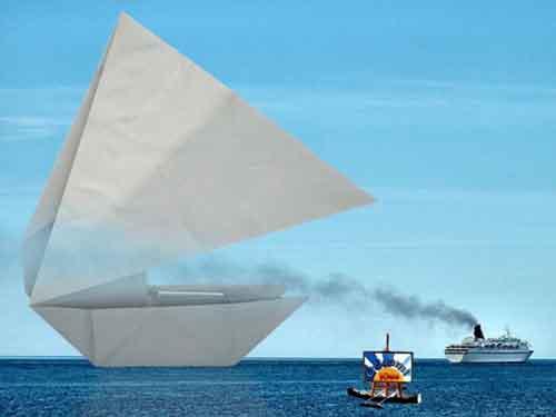 Bateau En Papier Origami Kids