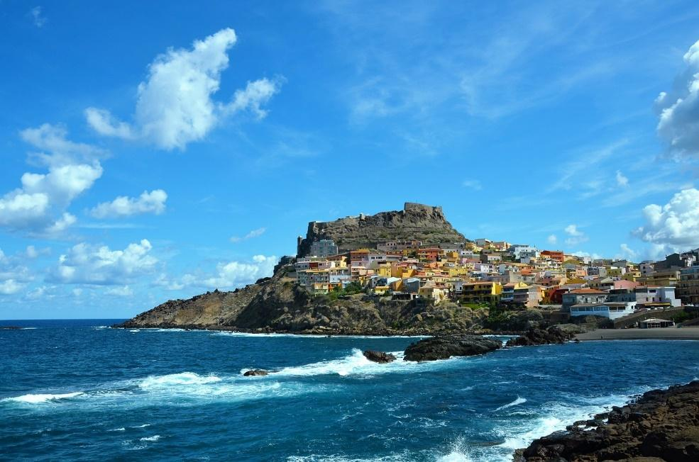 Sardinia,sea,castelsardo,old town,free pictures - free image from ...