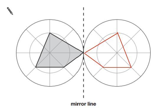 SAT mirror line