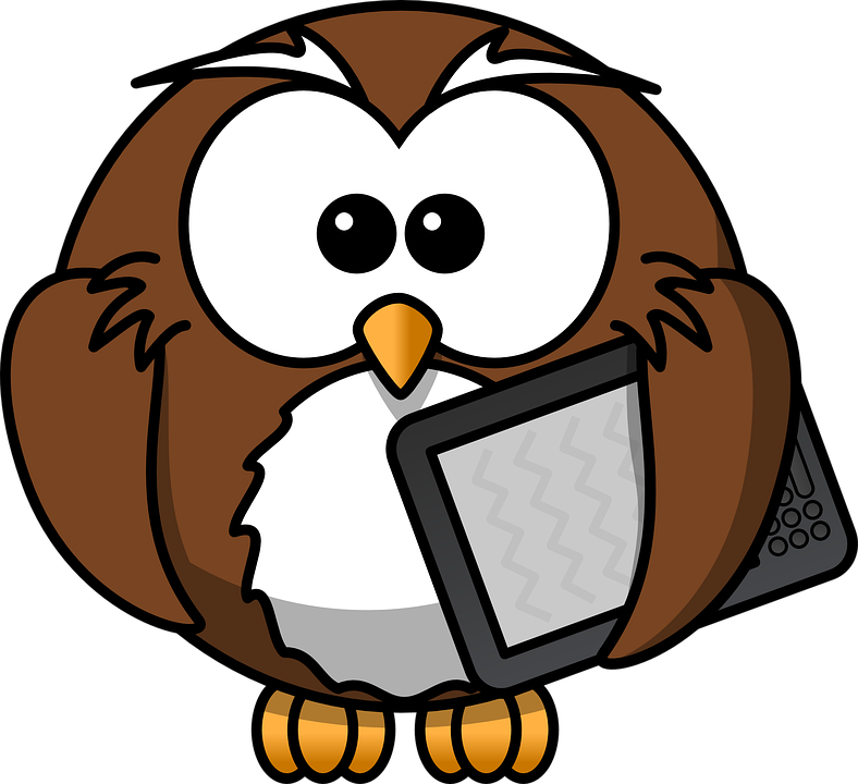 Free photo Bird Reader E-book Funny Animal Book Owl Kindle - Max Pixel
