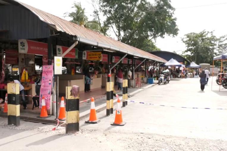 Market raid in malaysia