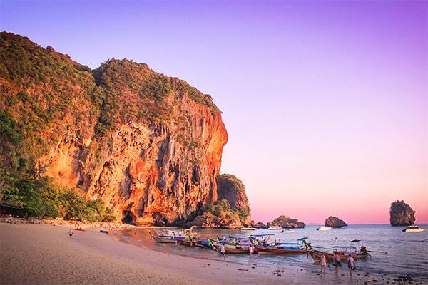 Bãi biển Tây Railay, Krabi