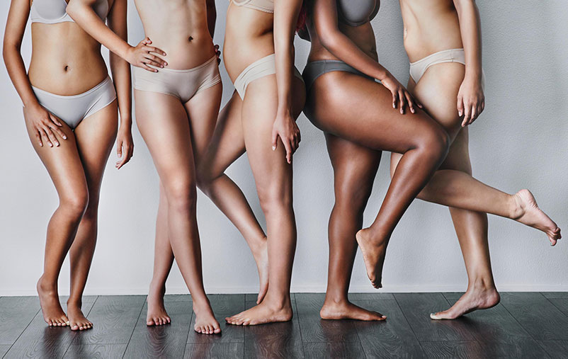 Underwear can have thick seams that are visible under leggings