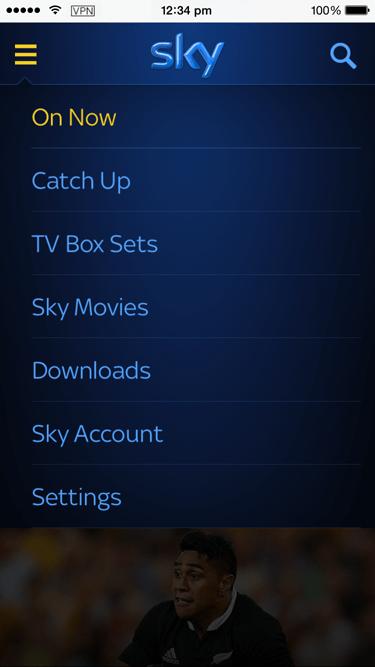 manage Sky Go app devices