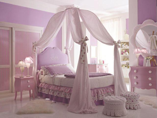 8 thiết kế nội thất phòng ngủ bé gái siêu dễ thương
