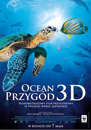 Polski plakat filmu 'Ocean Przygód 3D'