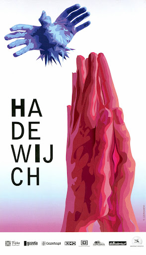 Przód ulotki filmu 'Hadewijch'
