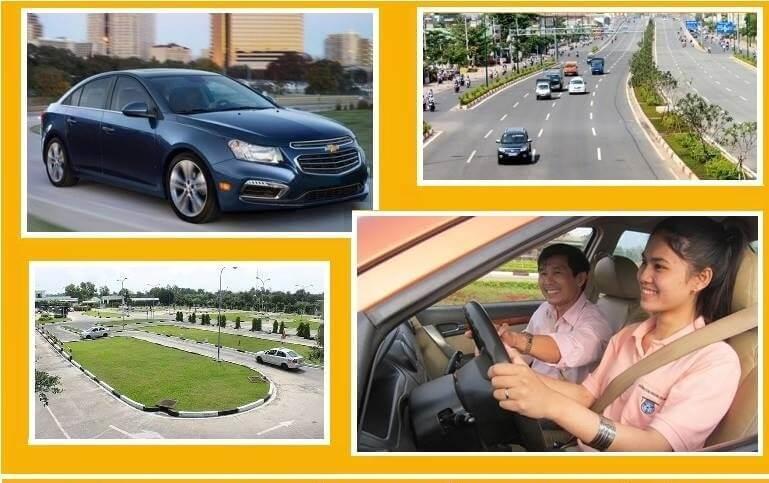 Cho thuê xe tập lái tphcm và bổ túc tay lái giá rẻ