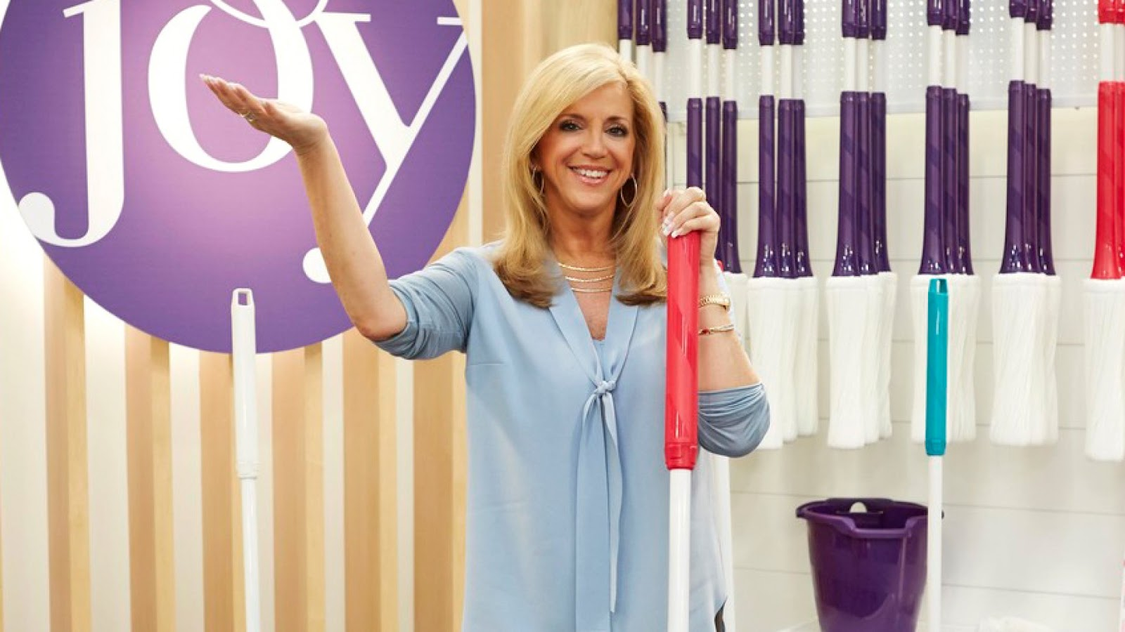 Female Inventors - Joy Mangano - Self Wringing Mop