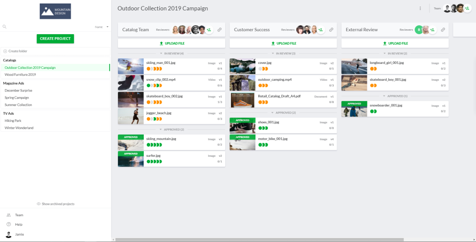 filestage Software zur Überprüfung von Markenwerten