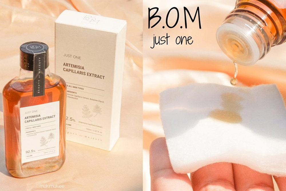 Kết cấu Nước Thần B.O.M Artemisia Capillaris Extract 150ml