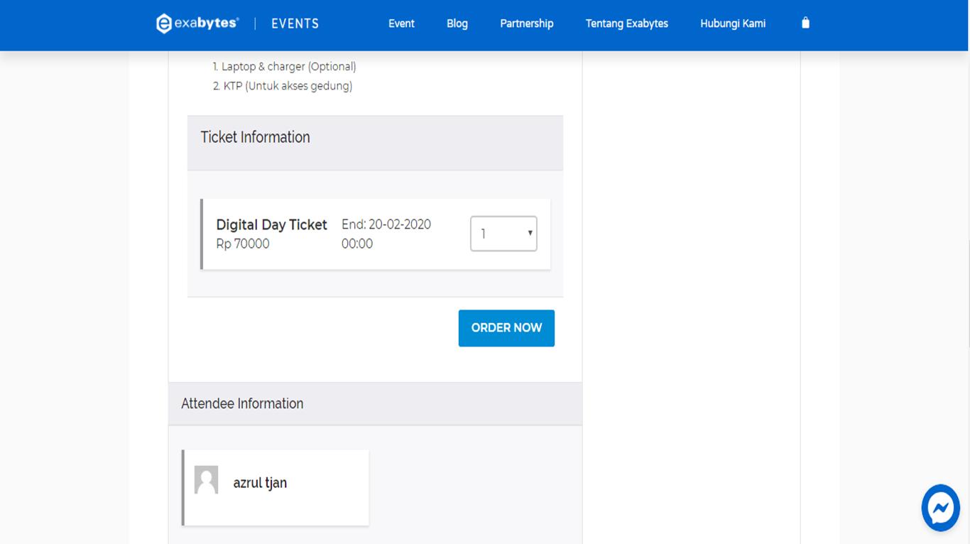 Cara Mudah Mengikuti Event di Exabytes Event  - 2020