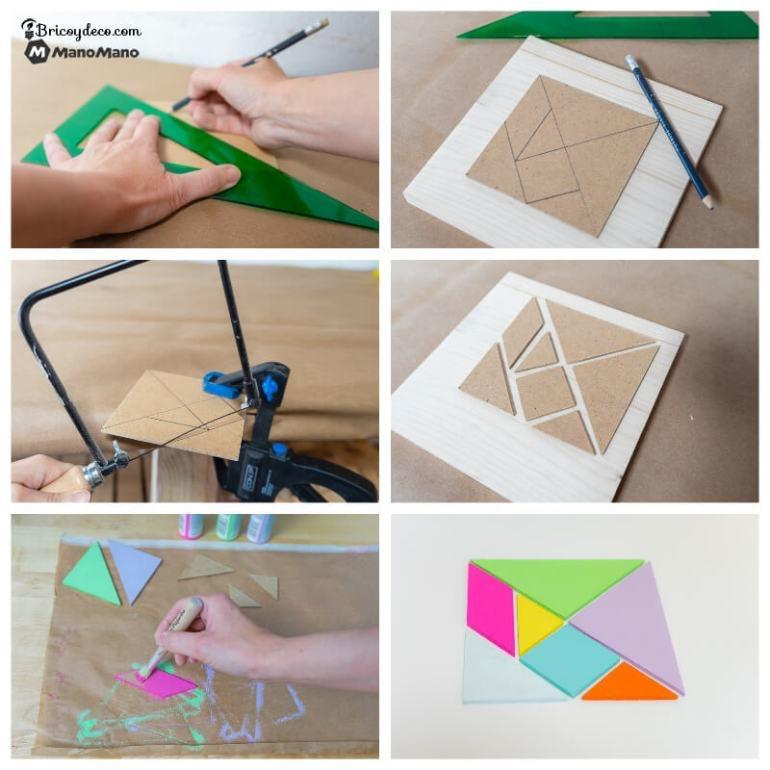 tangram puzzle piece by piece