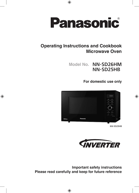Always read the instruction manual accompanied with your microwave oven. Source: Manualzz