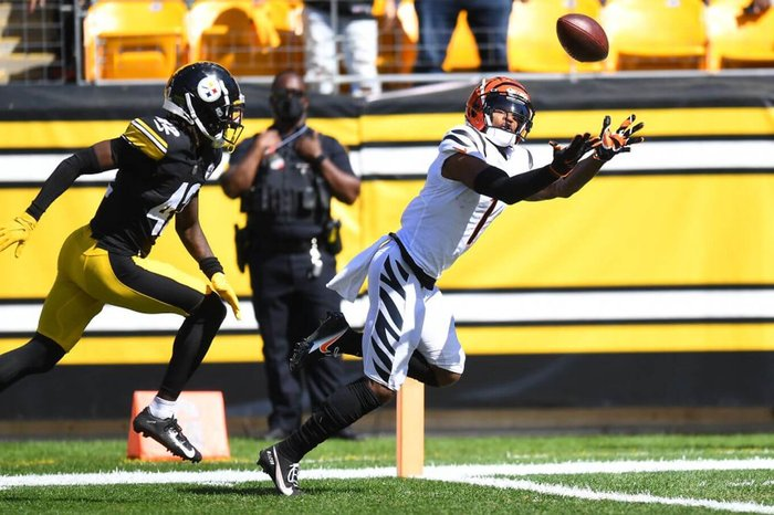 Ja'Marr Chase scores two touchdowns in Bengals win vs. Steelers - The  Athletic
