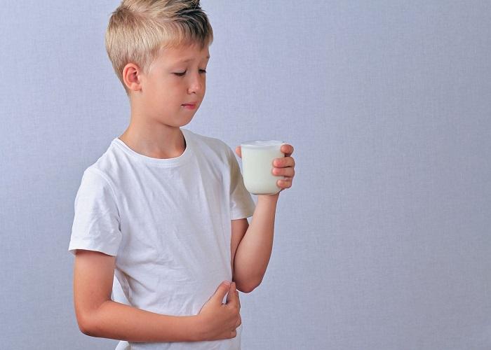 Đau bụng khi uống sữa do hội chứng không dung nạp Lactose