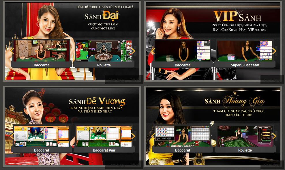 Sân chơi casino trực tuyến đỉnh cao tại 188Bet