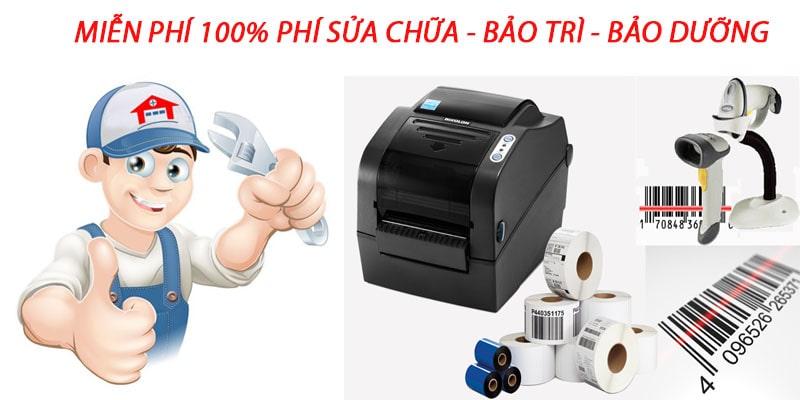 Hỗ trợ sửa chữa và set up Free máy in mã vạch tại Hà Nội