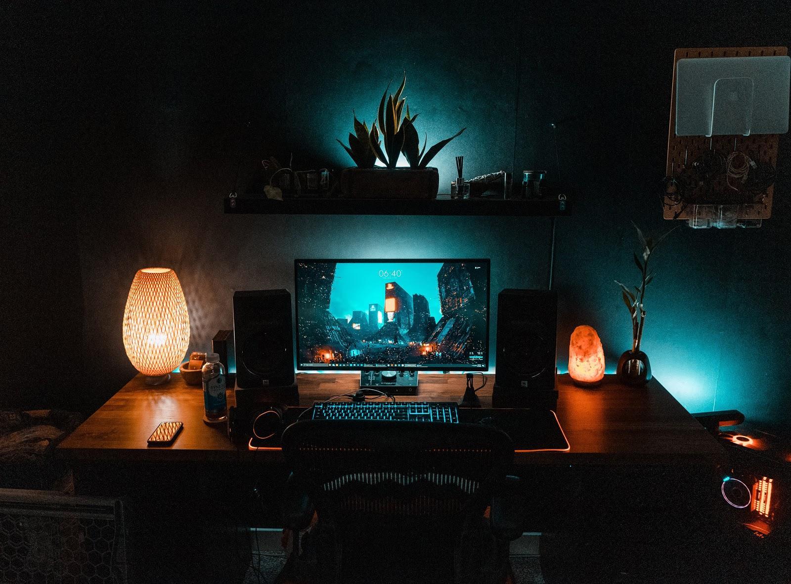 Beautiful setup. Beautiful experience.