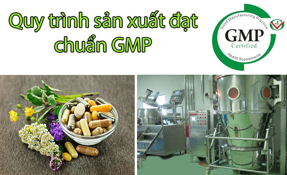 Quy trình gia công thực phẩm chức năng chuyên nghiệp tại Vietffp