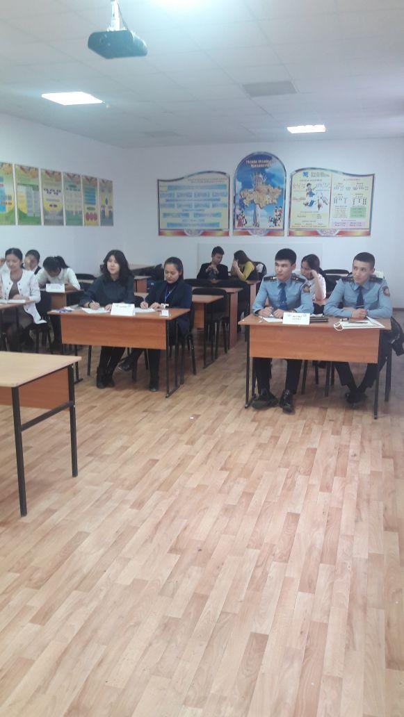 Академия курсанттары Атырау облысында өткен «Болашаққа бағдар: рухани жаңғыру» тақырыбындағы республикалық пікірсайыс турниріне қатысты