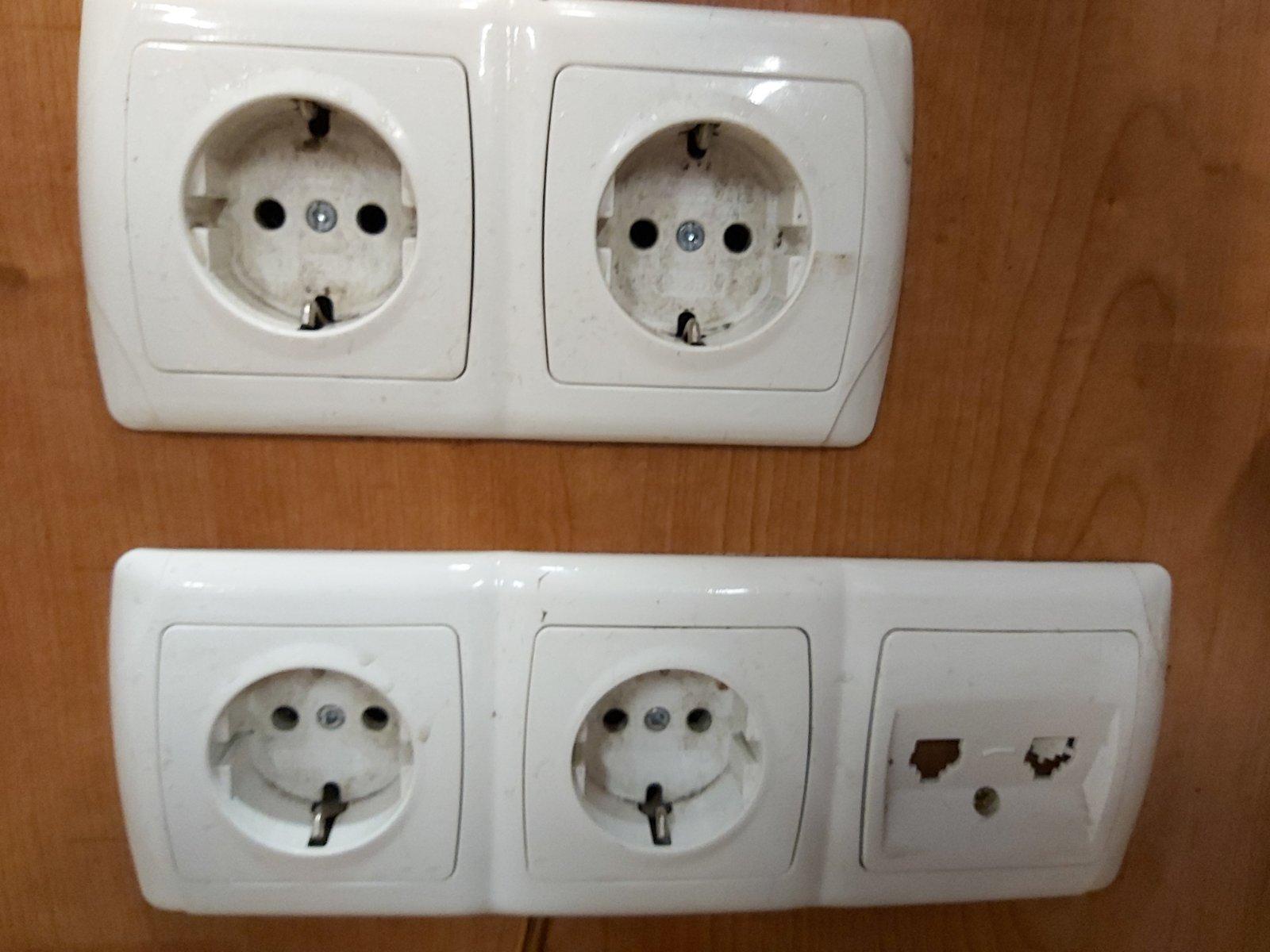 Розетки для стиральной машины