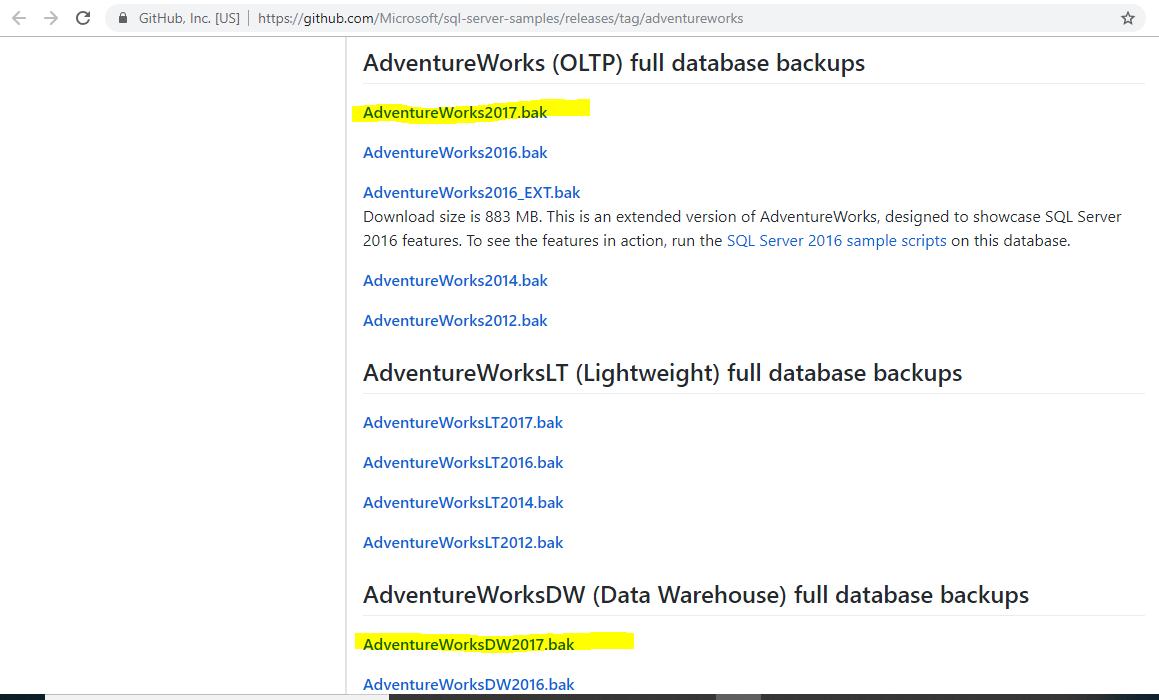 Download & Install Free Microsoft SQL Server & Install AdventureWorks Database & Data Warehouse 35