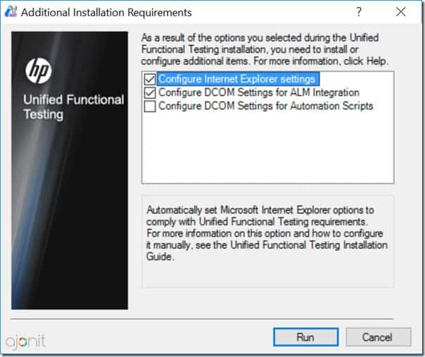 Additional Instalation Requirements