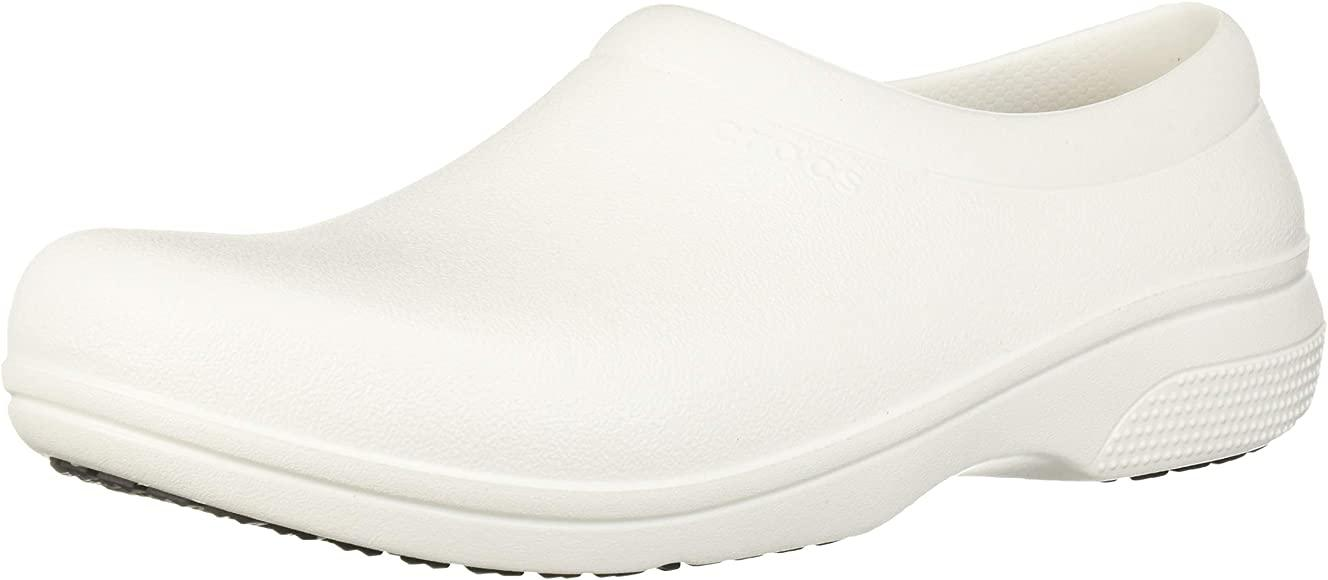 Crocs Men's and Women's On The Clock Work Shoes